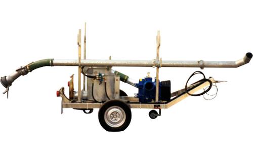 мобильная насосная установка для выкачивания канализации